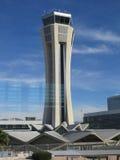 Tour de contrôle d'aéroport de Malaga Photo libre de droits