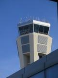 Tour de contrôle d'aéroport de Malaga Photographie stock libre de droits