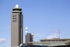 Tour de contrôle d'aéroport de Narita Tokyo Image libre de droits