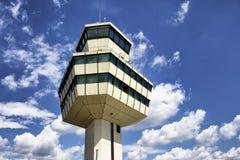 Tour de contrôle d'aéroport de Tegel Photographie stock libre de droits