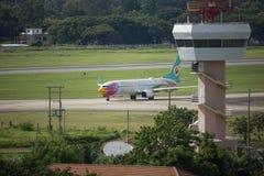 Tour de contrôle d'air d'aéroport international de Chiangmai Photographie stock