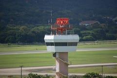 Tour de contrôle d'air d'aéroport international de Chiangmai Photos stock