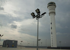 Tour de contrôle d'air, KLIA2 Photos stock