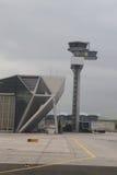 Tour de contrôle du trafic aérien à l'aéroport de Francfort Photographie stock