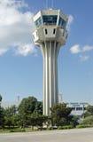 Tour de contrôle du trafic aérien, aéroport d'Ataturk, Istanbul Image libre de droits