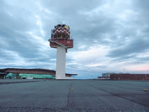 Tour de contrôle du trafic aérien d'aéroport Photographie stock