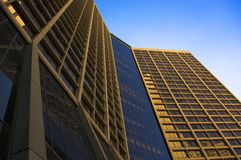 Tour de coucher du soleil Image libre de droits