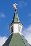 Tour de dôme de monastère d'Iversky dans Valday Photographie stock