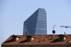 Tour de diamant de Milan, Milan Photos stock