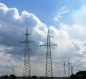 Tour de distribution d'énergie Photo libre de droits