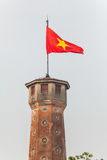 Tour de drapeau de Hanoï Photographie stock