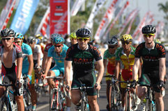 Tour De East Java 2013 Stock Photos