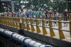 Tour de East Java 2013 Royalty Free Stock Photos