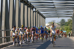 Tour de East Java 2013 Stock Photo
