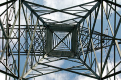 Tour de fer dans Shawinigan, Canada 3. photographie stock libre de droits
