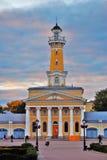 Tour de feu dans Kostroma, Russie images libres de droits