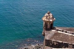 Tour de fort d'EL Morro Photos stock