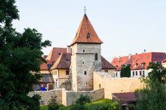 Tour de fortification dans Bardejov, Slovaquie Images libres de droits