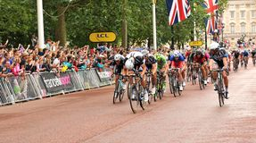 Tour de France à Londres, R-U Photographie stock libre de droits