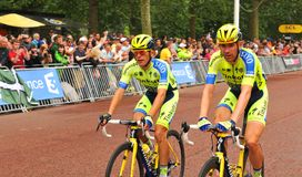 Tour de France à Londres, R-U Photos libres de droits