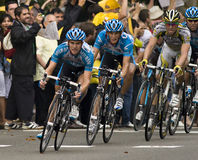 Tour de france. At barcelona 2009 Royalty Free Stock Photography