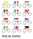 Tour de France Imagenes de archivo