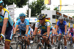 Tour de France 2009 de le - autour de 4 Photos stock