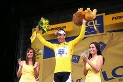 Tour de France 2009 de le - autour de 4 Photos stock