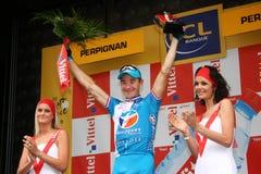 Tour de France 2009 di Le - intorno a 4 Immagini Stock Libere da Diritti