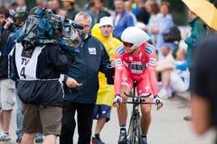 Tour de France 2010. Einleitung Lizenzfreies Stockbild