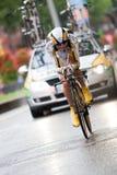 Tour de France 2010. Prólogo Fotos de archivo libres de regalías