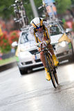 Tour de France 2010. Prologue Fotografie Stock Libere da Diritti