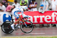 Tour de France 2010. Prologue Fotografia Stock Libera da Diritti