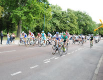 Tour de France 2011 in Final Stage Royalty Free Stock Photos