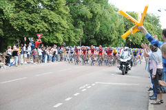 Tour de France 2011 in Final Stage Royalty Free Stock Photography