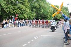 Tour de France 2011 im Endstadium Lizenzfreie Stockfotografie