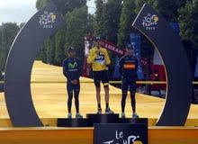 Tour de France 2015 de Chris Froome Fotografía de archivo libre de regalías