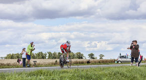 Tour de France Action Royalty Free Stock Photo