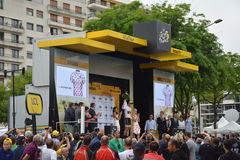 Tour de France 2016 Angers Royalty Free Stock Images
