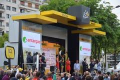Tour de France 2016 Angers Royalty Free Stock Photos