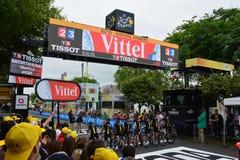 Tour de France 2016 Angers Stock Photo