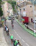 Tour de France 2015 - Aubenas, Francia Imagen de archivo libre de regalías
