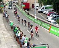 Tour de France 2015 - Aubenas, Francia Foto de archivo libre de regalías