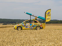 Tour de France automobile 2017 de BIC Photo stock