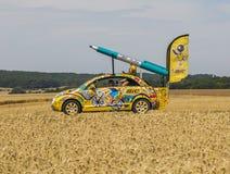 Tour de France automobilistico 2017 di BIC Fotografia Stock