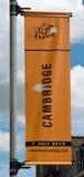 Tour de France-Cambridge-Fahne Stockfotos
