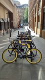 Tour de France che cicla velo Fotografie Stock