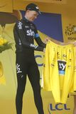 Tour de France 2015 de Christopher Froome Equipe Team Sky Imagen de archivo