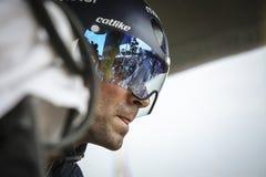 102. Tour de France - det Tid försöket - första etapp Fotografering för Bildbyråer