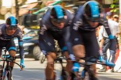 Tour de France 2013 di Le - fase quattro Fotografie Stock Libere da Diritti